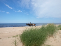 "Take a part of Adventure and book this <a href=""http://www.adventureride.eu/en/select-dates/empty_beaches_of_slitere_national_park/"">horseback riding vacation</a> in Slitere national park"