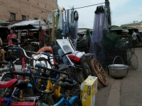 Real flea market where is possible to find almost everything
