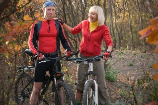 Outdoor guide MTB tour
